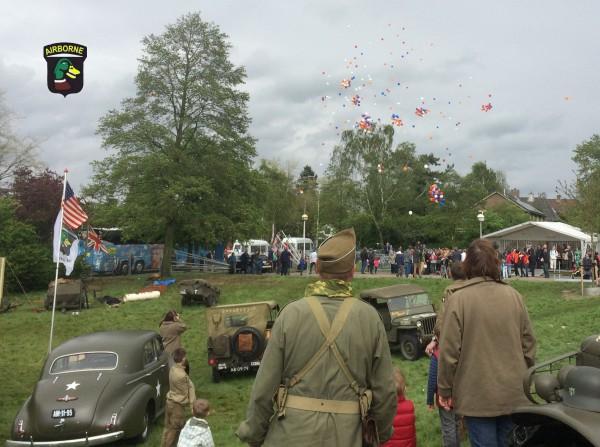 Ballon oplaten wageningen