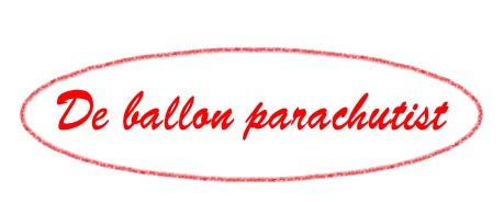 Card-Ballon parachutist